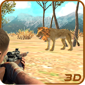 Lion Hunting Challenge 3D APK Icon