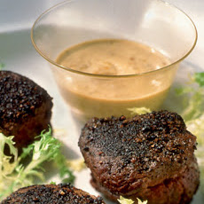 Beef Tenderloins with Mustard Sauce