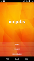 Screenshot of iimjobs