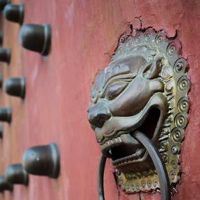 door hander by Woo Yuen Foo - Artistic Objects Antiques