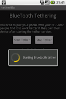 Screenshot of tether Blu - Free Edition