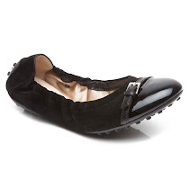 Tod's Buckle Ballet Flat SHOES