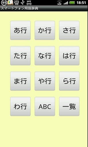 スマートフォン用語辞典
