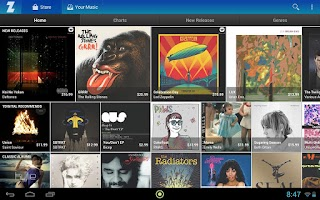 Screenshot of Zdigital Music Store