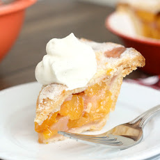 Triple Vanilla Bean-Scented Mini Peach Pie