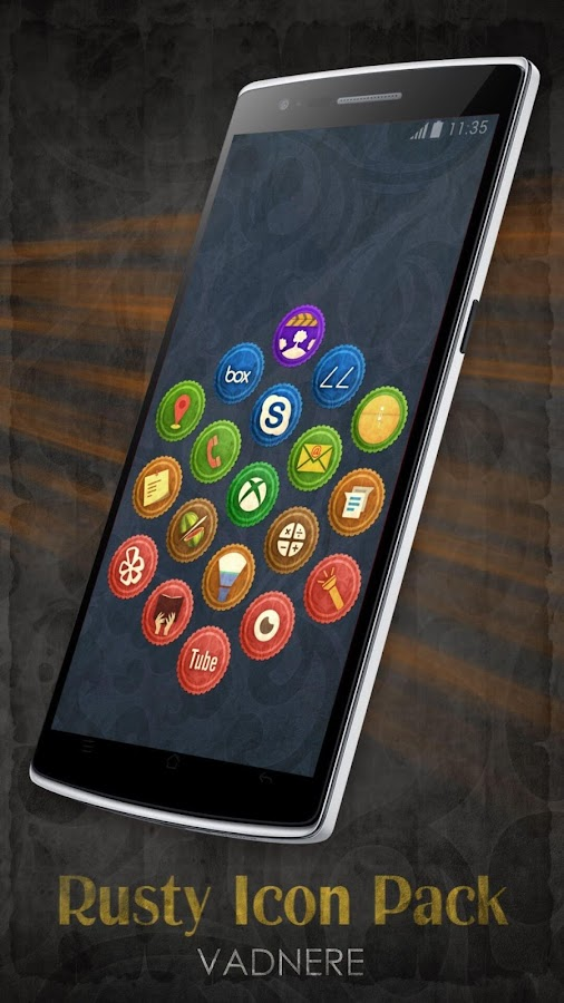 Rusty Icon Pack TSF Nova Apex Screenshot 14