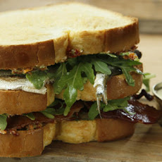 Sardine, Sun-Dried Tomato, and Bacon Club Sandwich