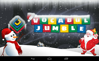 Screenshot of Vocabul Jumble (Word Jumble)