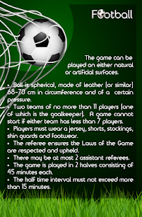 Sports Rules - screenshot