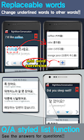 Screenshot of RightNow Korean Conversation