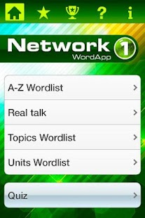 Network 1 WordApp - screenshot