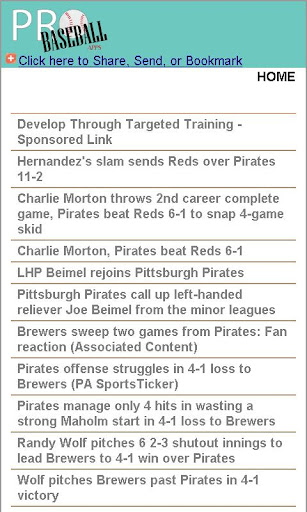 Pittsburgh Pro Baseball News