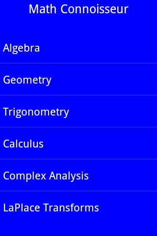 Math Connoisseur