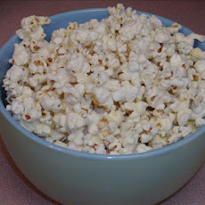 Popcorn With Rosemary Infused Oil
