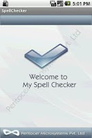 Screenshot of My Spell Checker