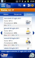Screenshot of Class Meteo - Weather Channel
