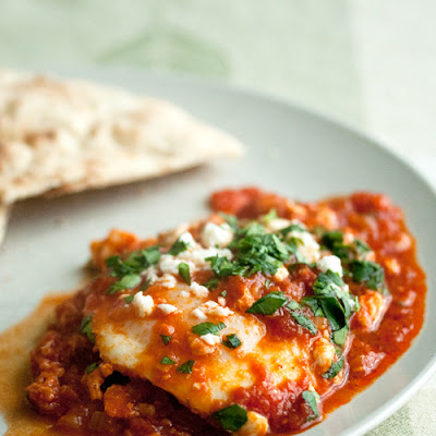Shakshuka (Eggs in Spicy Tomato Sauce)