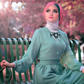 Beauty in Fashion Hijab by Iqbal Organizer - People Fashion ( fashion, model, modelling, fashion photography, hijab, iqbalorganizer, photography )