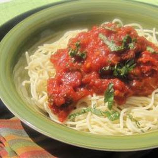 Seven Ingredient Tomato Sauce
