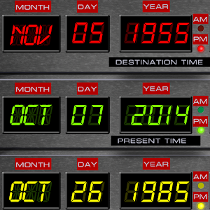 Time Circuits Dashboard Clock For PC / Windows 7/8/10 / Mac – Free Download
