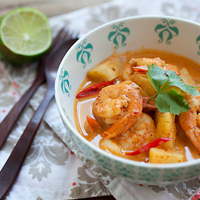 Thai Shrimp and Pineapple Curry