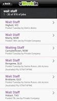 Screenshot of Hospitality Jobs