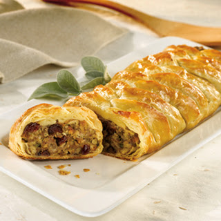 Sausage, Cranberries & Stuffing Pastry