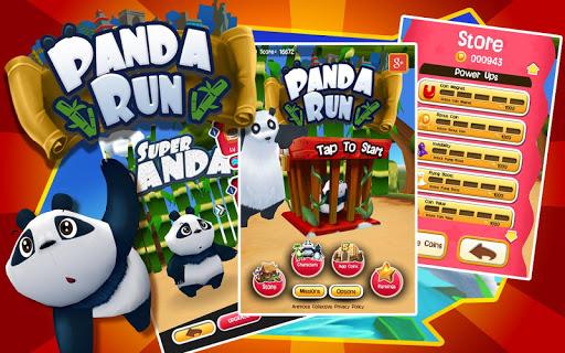 Panda Run - screenshot