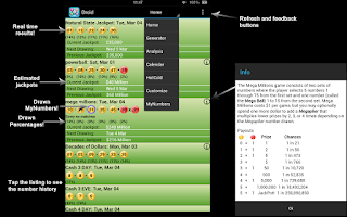 Screenshot of MD Numbers Droid Lite