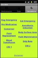 Screenshot of Vet Medicamentos