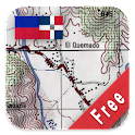 Dominican Republic Maps Free icon