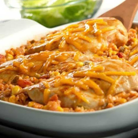 Tex Mex Chicken and Rice Bake