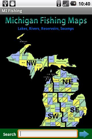 Michigan Fishing Maps - 14K