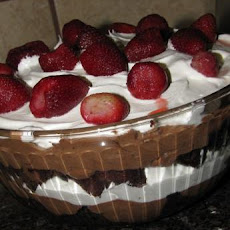 Easy Chocolate Berry Trifle