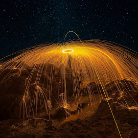 Fire...!!!>>>>>>>>>.. by Giannis Kotronis - Abstract Light Painting ( fire...!!!>>>>>>>>>>>>>>>> )