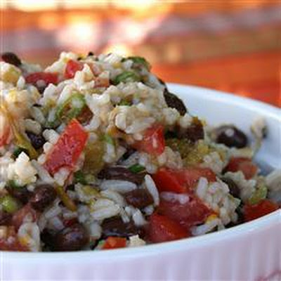 black bean and brown rice salad allrecipes uk salt ground black pepper ...
