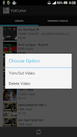 Screenshot of VidCutter - Video Trimmer