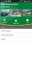 Screenshot of DEKRA Used Car Report