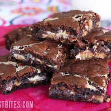 Ooey-Gooey Peanut-Butter Brownies