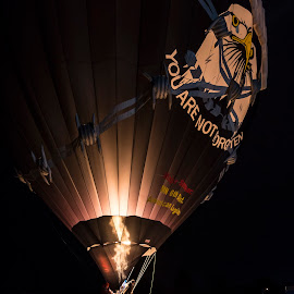 Tribute by Andy Chow - News & Events Entertainment ( hot air, pow, mia, balloon )