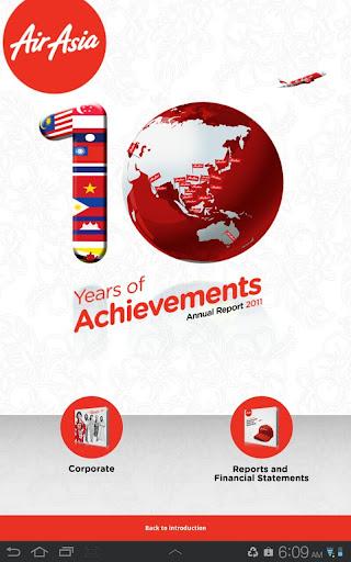 【免費商業App】AirAsia Annual Report 2011-APP點子