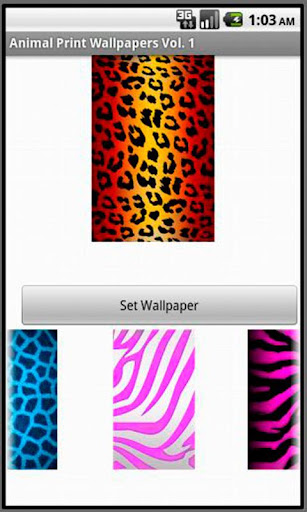Animal Print Wallpapers Vol. 1