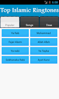 Screenshot of Top Islamic Ringtones