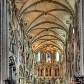 Bayeux Cathedral by Peter Kennett - Buildings & Architecture Places of Worship ( church, bayeux, france, cathedral, normandy )