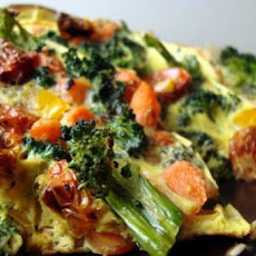 Low Calorie Vegetable Frittata