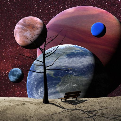 惑星ライブ壁紙 個人化 LOGO-玩APPs