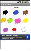 Screenshot of Aprende Colores en Inglés