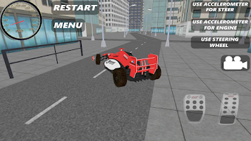 Screenshot of Race Car Simulator