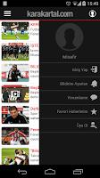 Screenshot of Karakartal-Beşiktaş haberleri