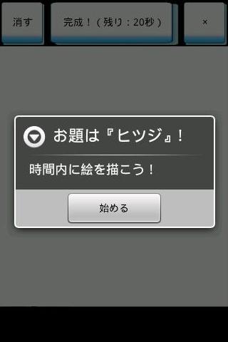 合コン宴会にお絵かき伝言ゲーム!